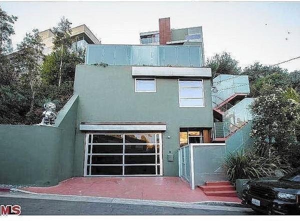 Singer Chris Brown's house in Hollywood Hills is for sale.