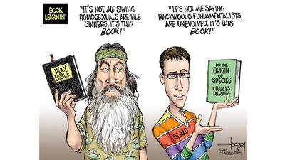 Duck man Phil Robertson's Bible cannot limit American liberty