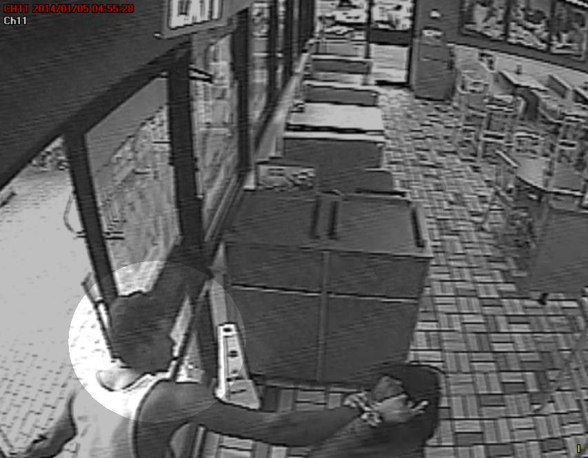 One of two men who police say was involved in assaulting a woman at a Pembroke Pines Burger King restaurant on Jan. 5, 2014.