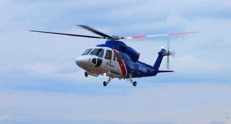 In December, Sikorsky Aircraft Corp. delivered its first fully configured S-76D helicopter to the Bristow Group Inc.