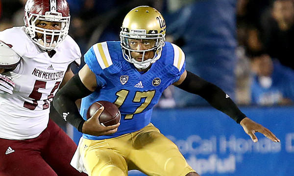 "UCLA quarterback Brett Hundley says the Bruins have the chance to be ""something special."""