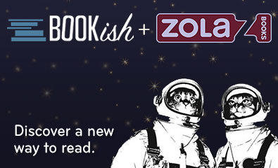 An online message announcing that Zola Books has acquired Bookish.