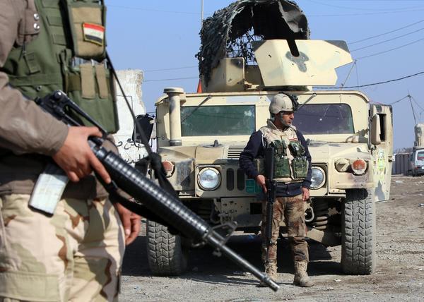 Iraqi offensive in Fallouja pending