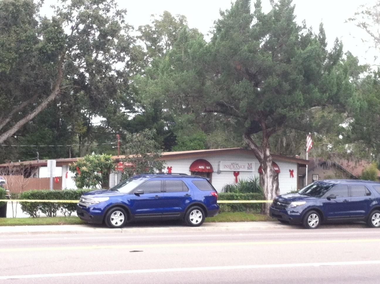A woman was shot and killed at McGee Insurance and Financial Services LLC on West 25th Street in Sanford, police said.