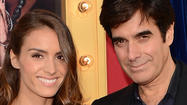 David Copperfield engaged to French model Chloe Gosselin