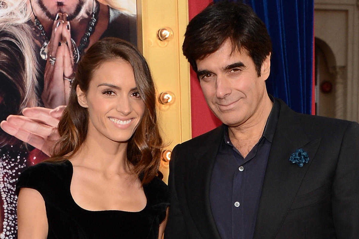 "Chloe Gosselin and David Copperfield at the premiere of ""The Incredible Burt Wonderstone"" last March in Hollywood. Copperfield played himself in the movie."