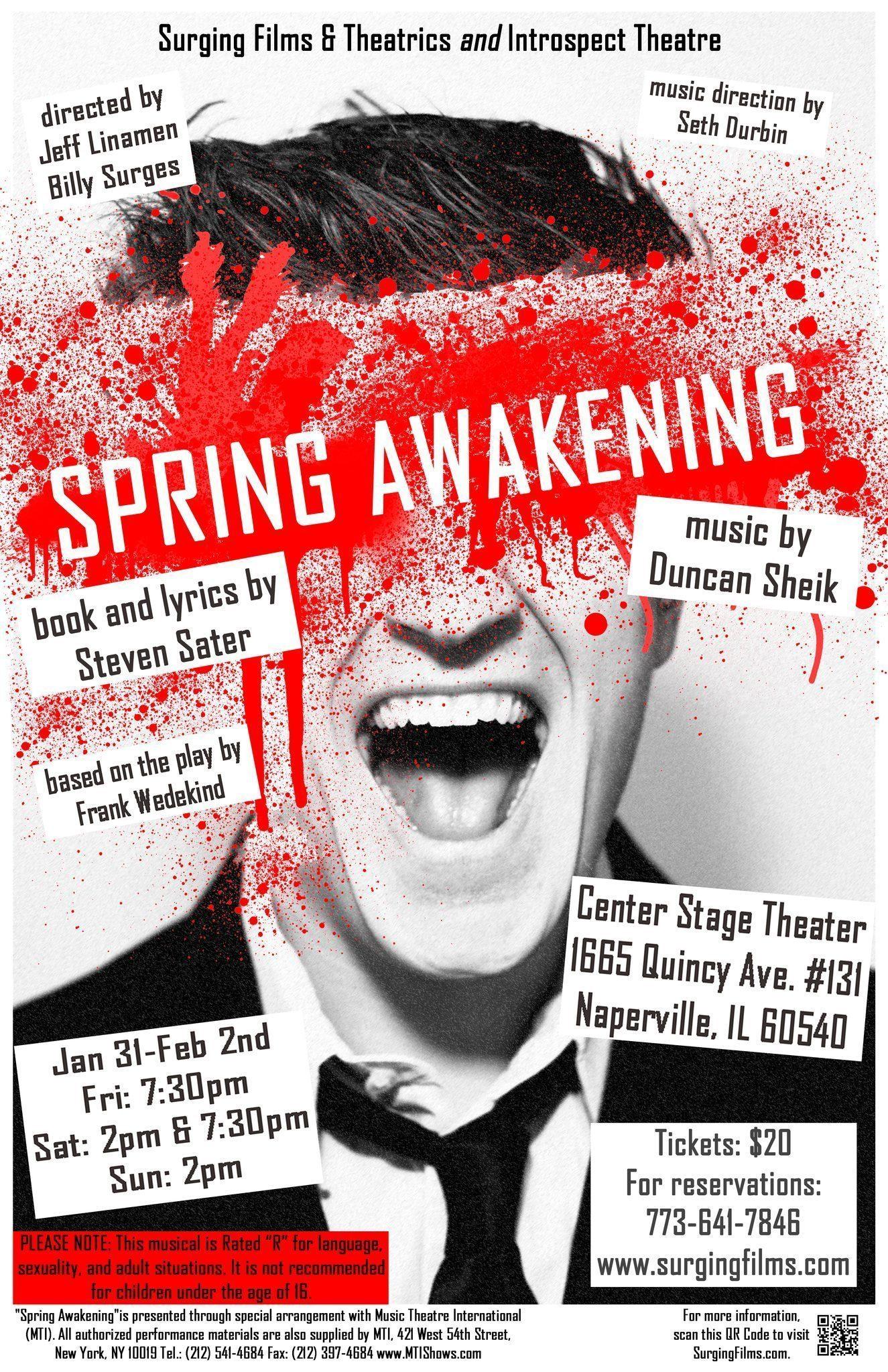 Spring Awakening 2014 Stage