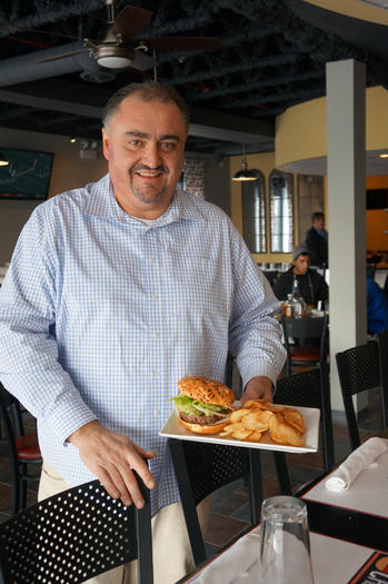 Noted Chef Cristiano Bassani opens Big Chef Burgers in Schaumburg
