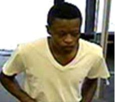 Margate police say this man, who has a teardrop tattoo near his right eye, robbed a CVS pharmacy at knifepoint on Monday, Jan. 6, 2014.