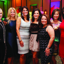 "Nancy Dockerty, left, Kristen Ross, Kathy Adkins, Dorothy MacDiarmid, Fabiola Hooker, Debbie Faris and Melissa Whelchel looked fashionable at the Florence Fuller Child Development Centers' ""Wee Dream Ball"" at Boca West Country Club Dec. 13. The event raised more than $400,000."