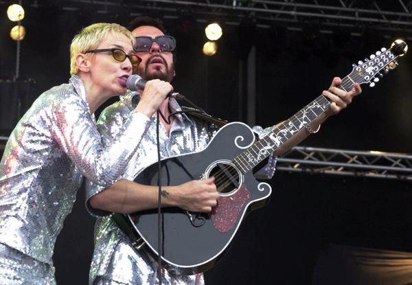 "The Eurythmics will reunite for Beatles TV special marking the 50th anniversary of the Fab Four's first appearance on ""The Ed Sullivan Show."""