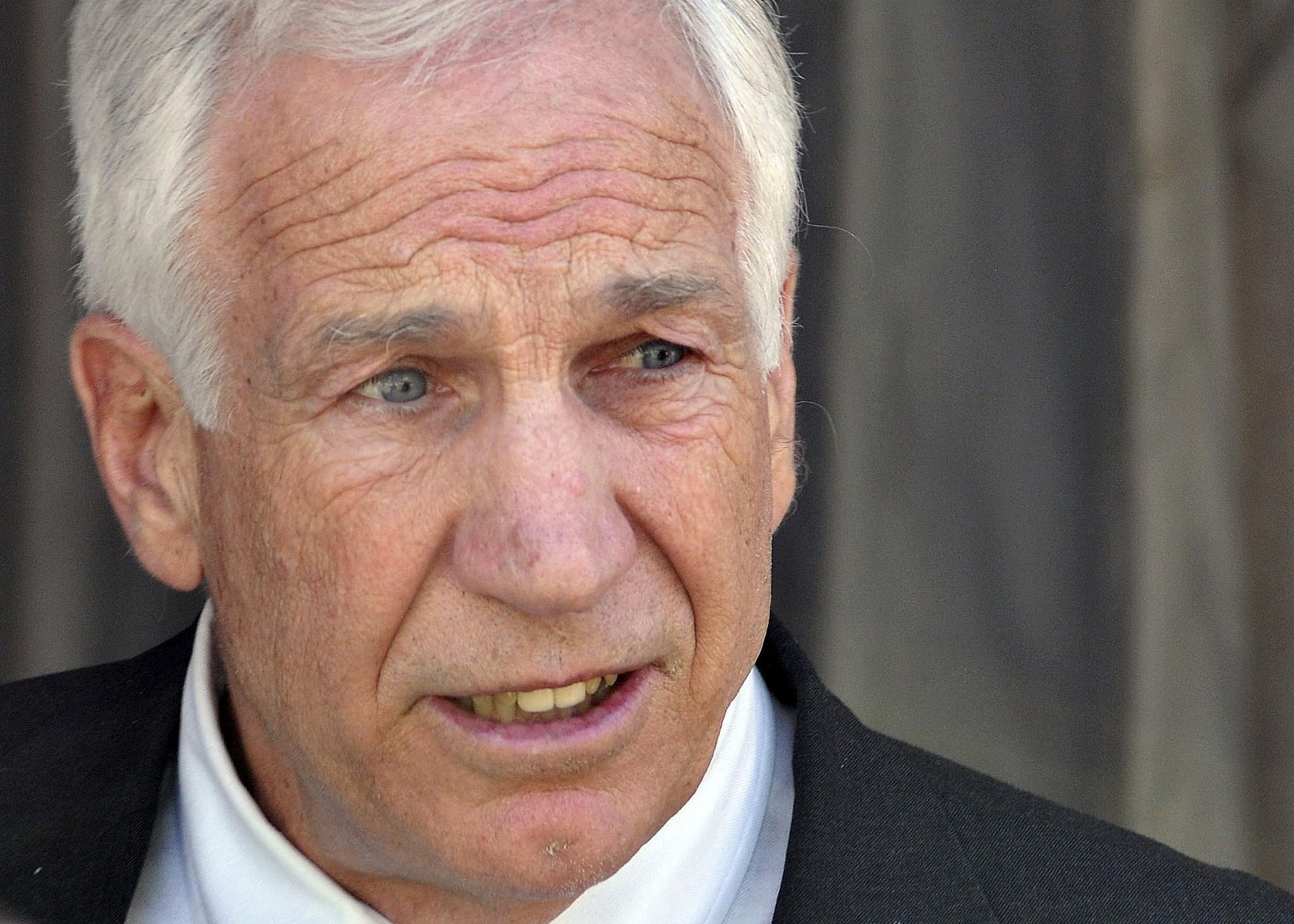 Former Penn State assistant football coach Jerry Sandusky is seeking to have his pension restored.