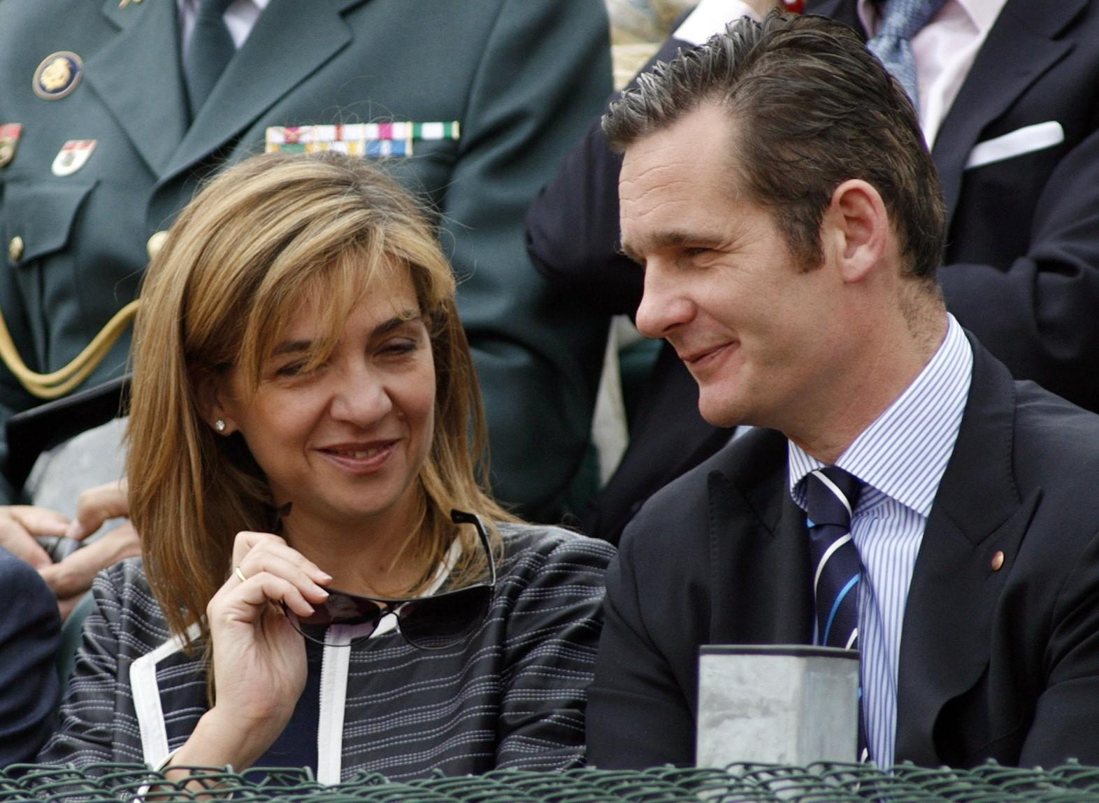 Spain's Infanta Cristina and her husband Inaki Urdangarin in 2007. A Spanish judge charged Princess Cristina - younger daughter of King Juan Carlos - with tax fraud and money laundering on Jan. 7, possibly paving the way to an unprecedented trial of a member of the royal family.