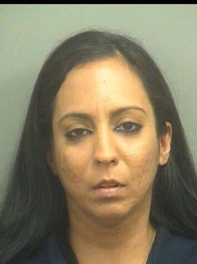 Nadia Abi-Roud Hende, 36, of Coconut Creek, is accused of stealing $4,887 from the West Boca McDonald's where she worked as a general manager.