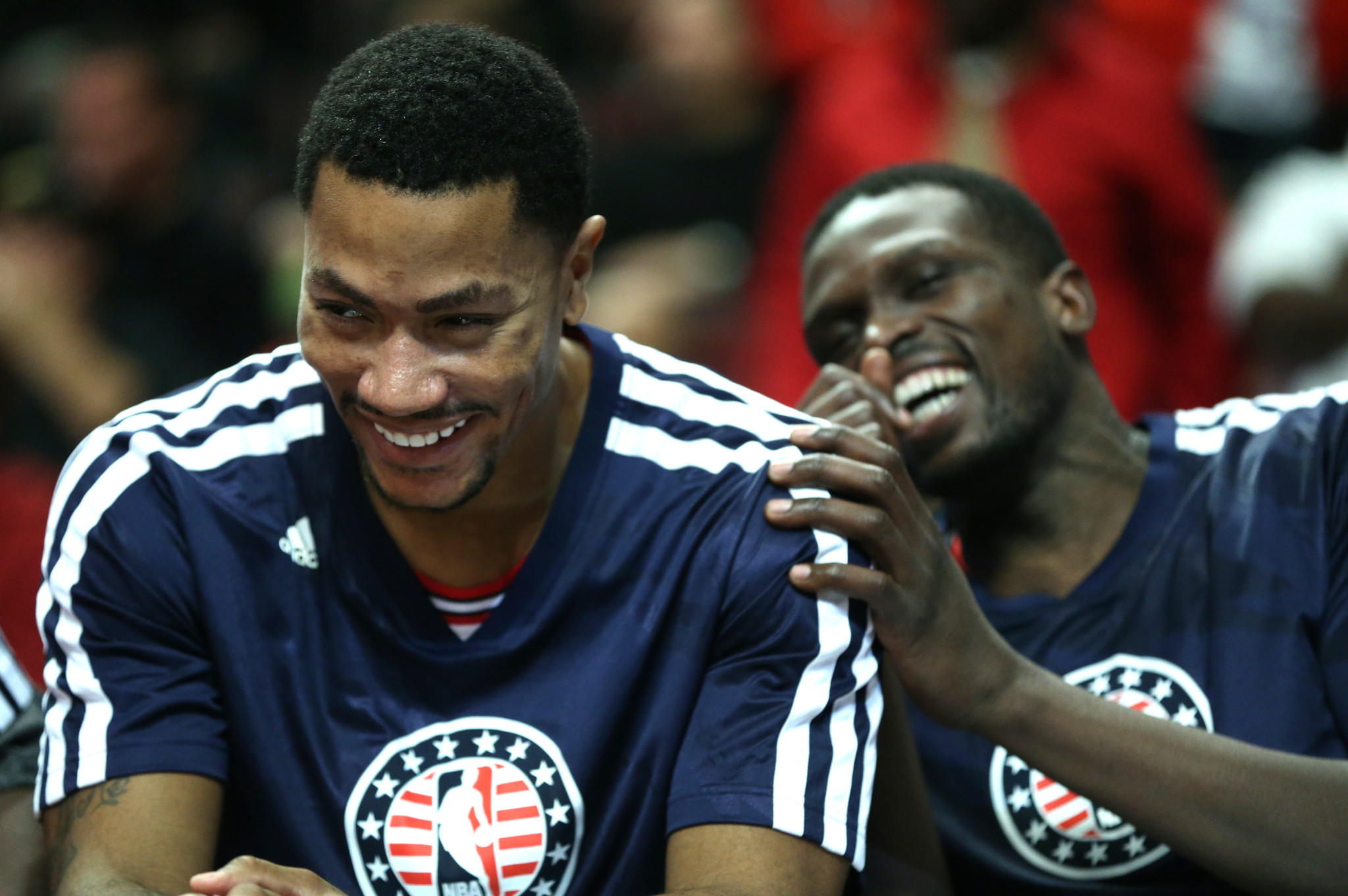 Now that Luol Deng (right) has been traded, the Bulls need Derrick Rose to help the team in free agency.