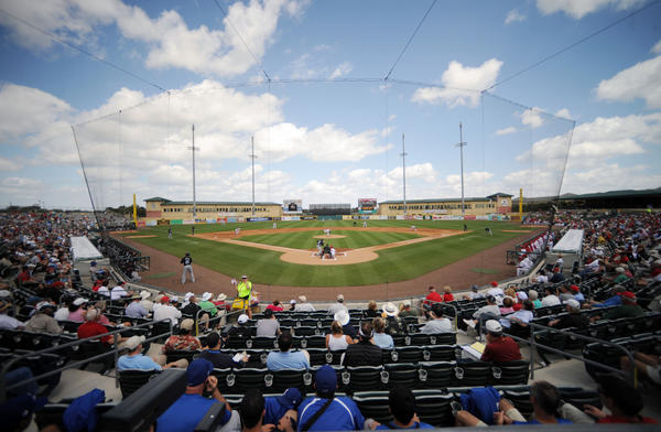 Palm Beach County officials are exploring the possibility of building another baseball stadium, similar to Roger Dean Stadium in Jupiter, in order to lure more teams for spring training.