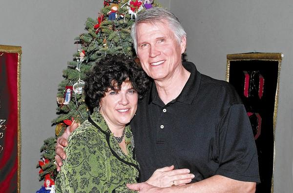Hosts Brooks and Ann Gardner opened their home on New Year's Eve to an interesting mix of longtime friends and colleagues as they welcomed in 2014.