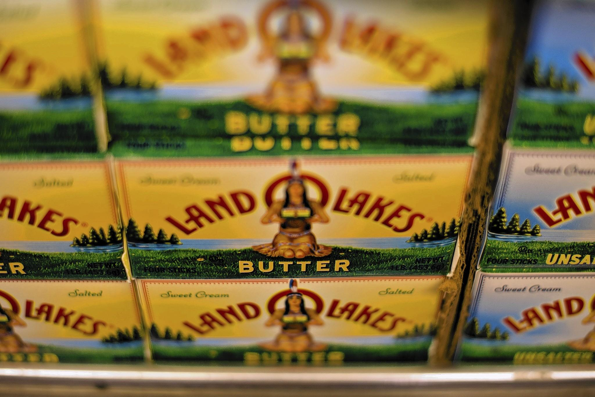 Americans now eat 5.6 pounds of butter per capita, up from a low of 4.1 pounds in 1997. Above, butter for sale at a supermarket in Princeton, Ill., in June.