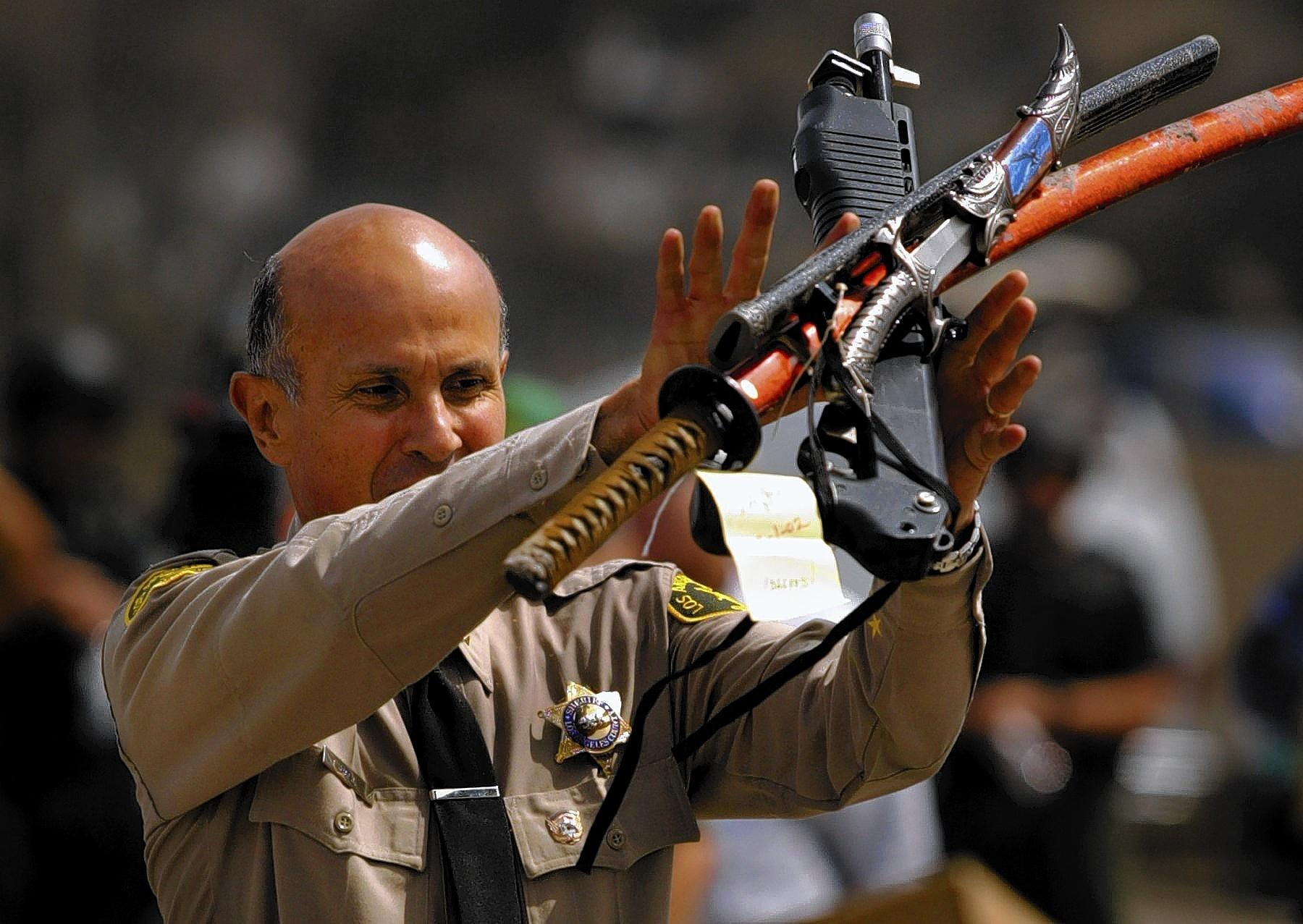 Sheriff Lee Baca consulted with key aides before deciding to retire after 48 years with the L.A. County Sheriff's Department.