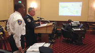Police officials before council after violent start to 2014