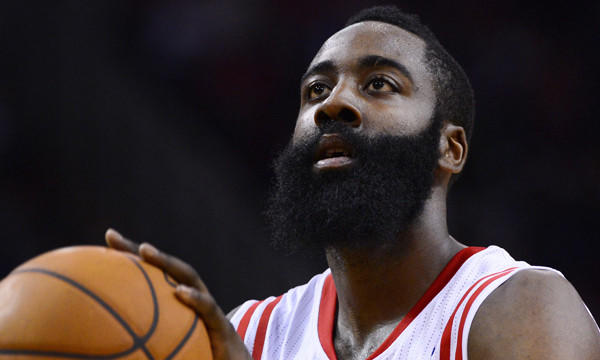 James Harden and the Houston Rockets play host to the Lakers on Wednesday.