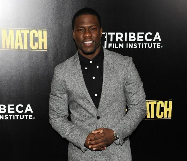 "Actor Kevin Hart attends the ""Grudge Match"" screening benefiting the Tribeca Film Insititute at Ziegfeld Theater Dec. 16, 2013 in New York City."