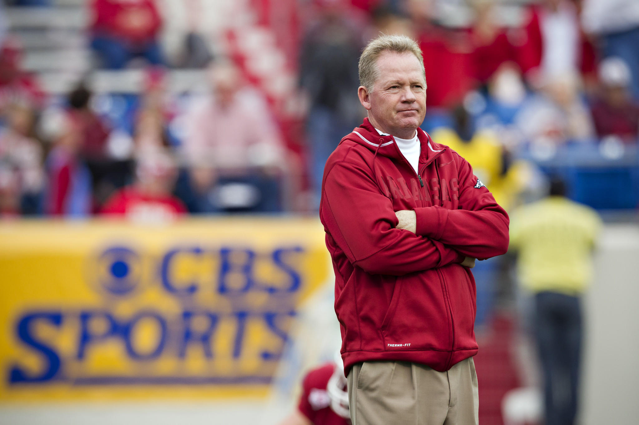 Bobby Petrino was fired by Arkansas in April 2012 and coached last season at Western Kentucky.