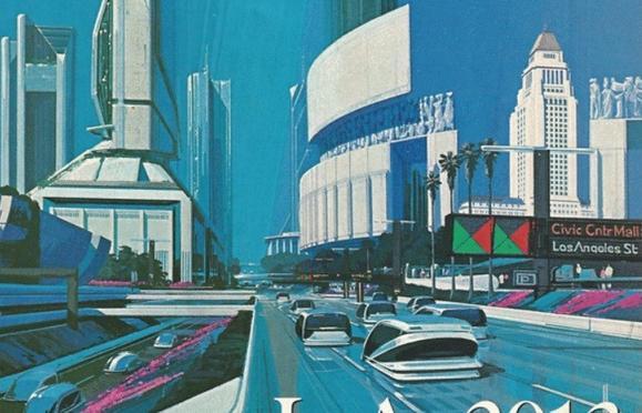 Futurist view of L.A.
