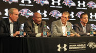 """State of the Ravens"" news conference [Pictures]"