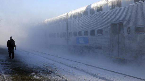 Metra: Rising temps expected to help keep delays down