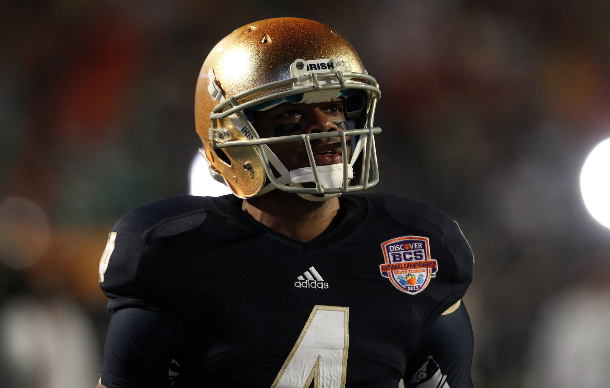 Notre Dame Fighting Irish running back George Atkinson III has decided to enter the NFL draft.