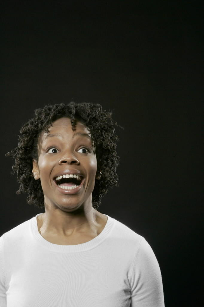 "Amber Ruffin in ""Between Barack and a Hard Place."""