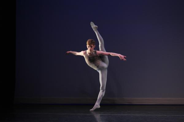 Orlando Ballet School student Austen Acevedo.