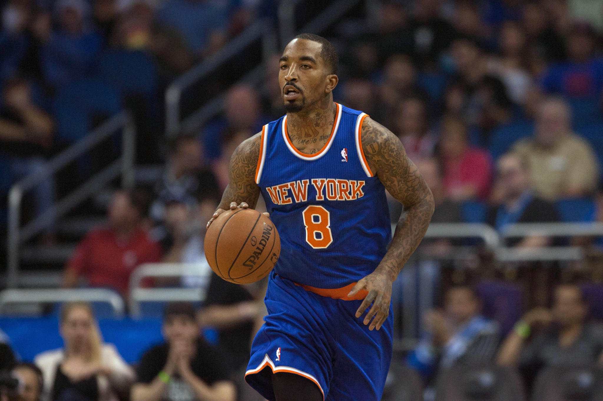 New York Knicks shooting guard J.R. Smith has been fined $50,000 by the NBA.
