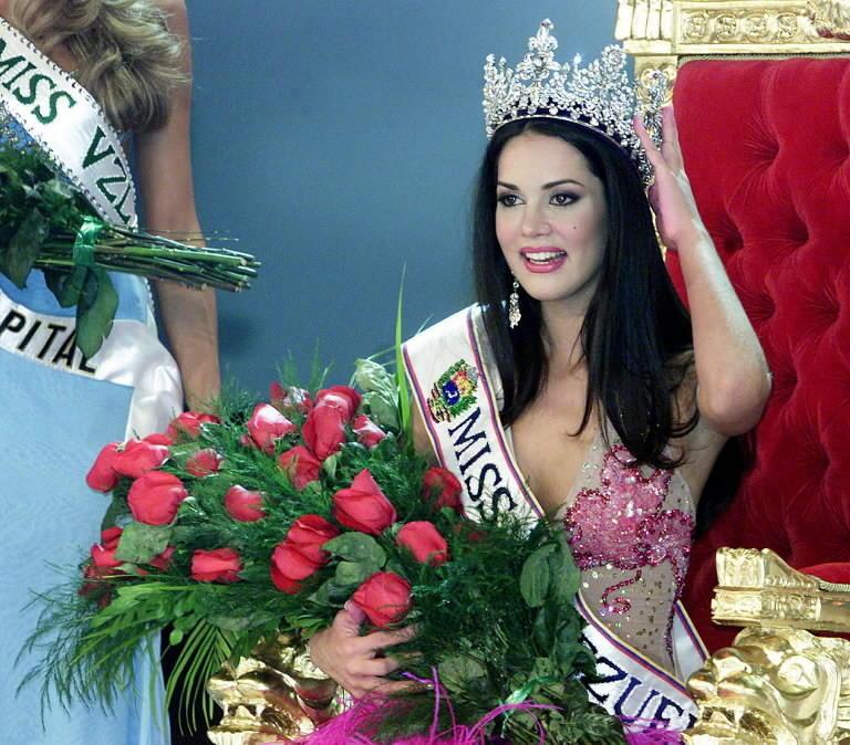 Monica Spear was crowned Miss Venezuela in 2004.