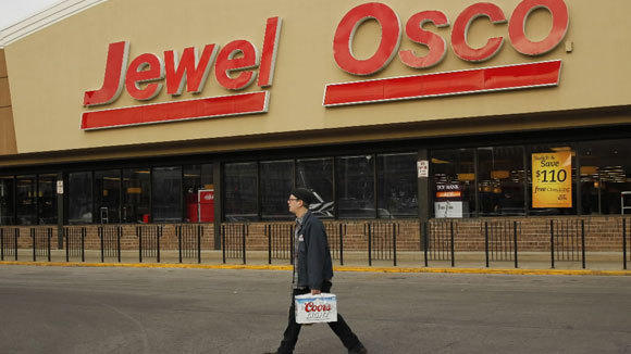 Supervalu saw its profit double after the sale of Jewel-Osco and other chains.