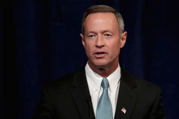 Gov. Martin O'Malley, the term-limited Democrat who is considering running for president, tweeted about Maryland's previous No. 1 ranking on the first day of the General Assembly session, during which lawmakers are expected to debate expanding pre-kindergarten programs.