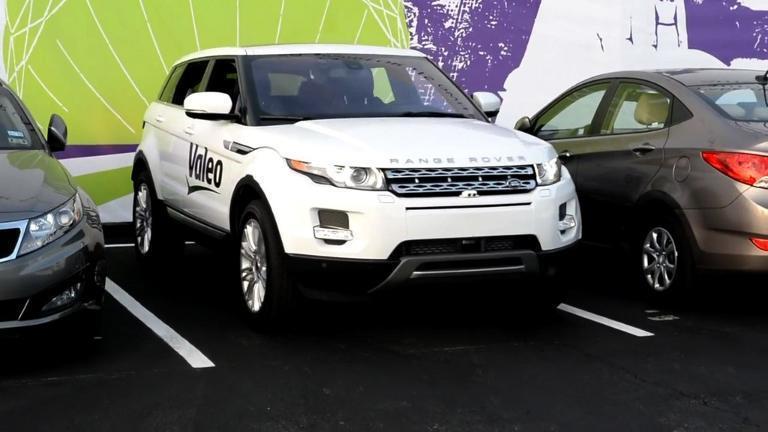 Self parking car unveiled at las vegas tech fair chicago for Chicago motor cars las vegas nv