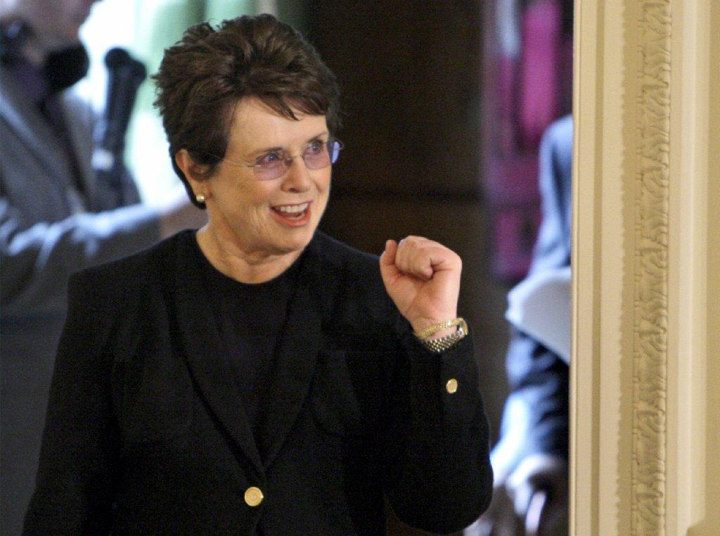 Billie Jean King is part of the official U.S. delegation to the 2014 Winter Olympics in Sochi, Russia.