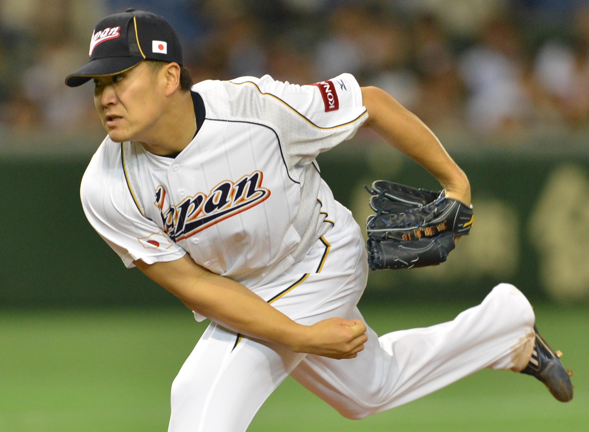 Japanese pitcher Masahiro Tanaka.