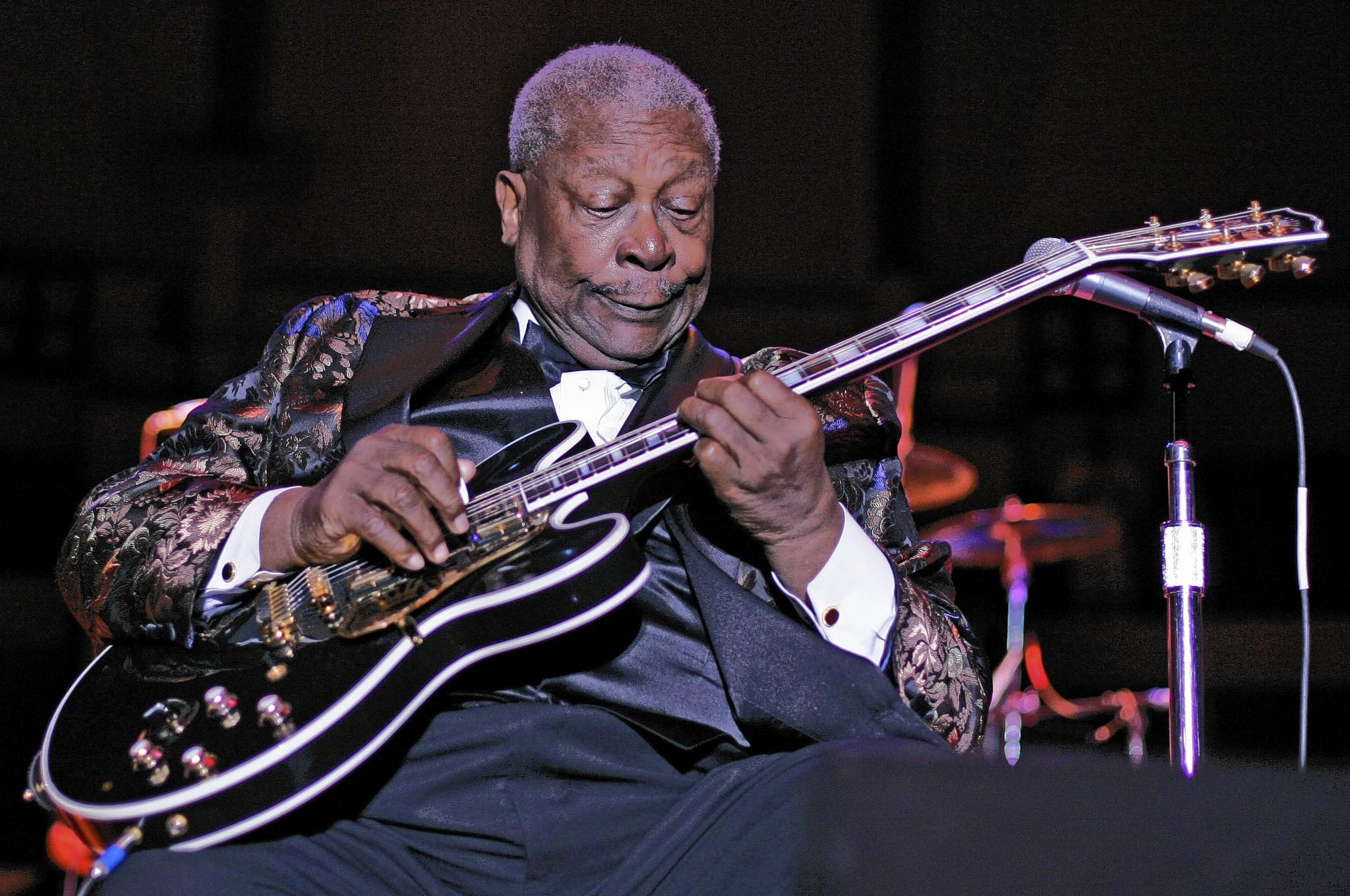 B. B. King performs at Hampton Coliseum during the 2006 Hampton Jazz Festival.