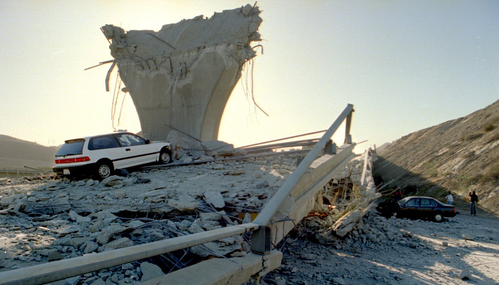 Northridge earthquake date in Sydney