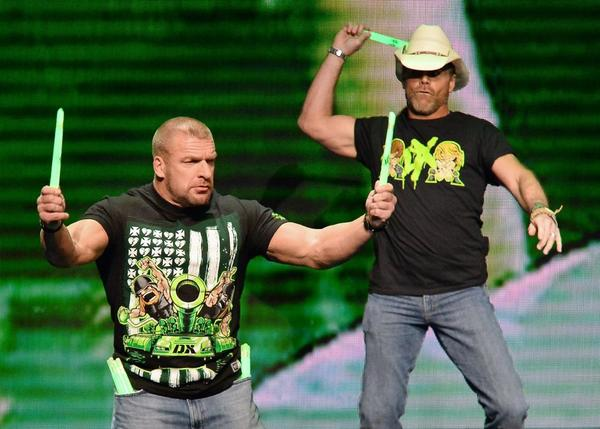 WWE's Triple H and Shawn Michaels