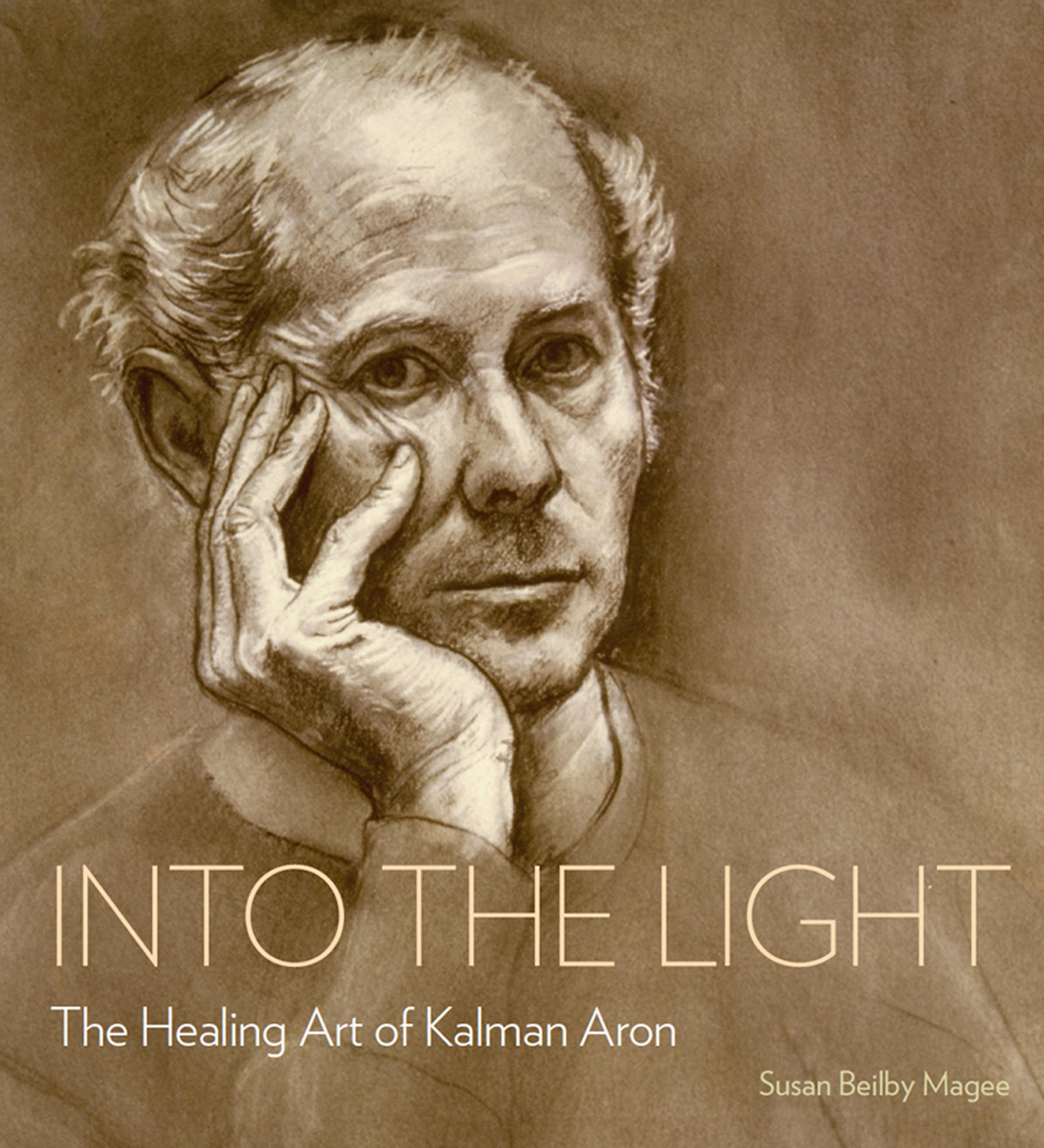 A self-portrait by Kalman Aron graces the cover of Susan Beilby Magee's book on the artist who made his home in Los Angeles after surviving the Holocaust.