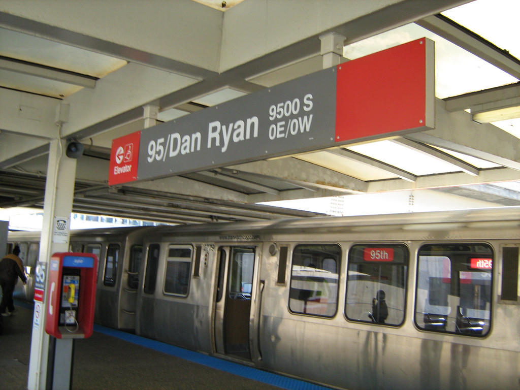 The CTA has placed part of the rail near the 95th Red Line station under slow zone because of a crack that developed during weather problems this month.