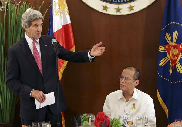 Benigno Aquino III, John Kerry