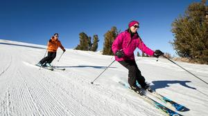 June Mountain ski area has a good vibe and appealing prices