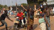 Central African Republic president and prime minister resign