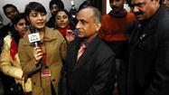 Indian diplomat flies home after indictment in U.S.
