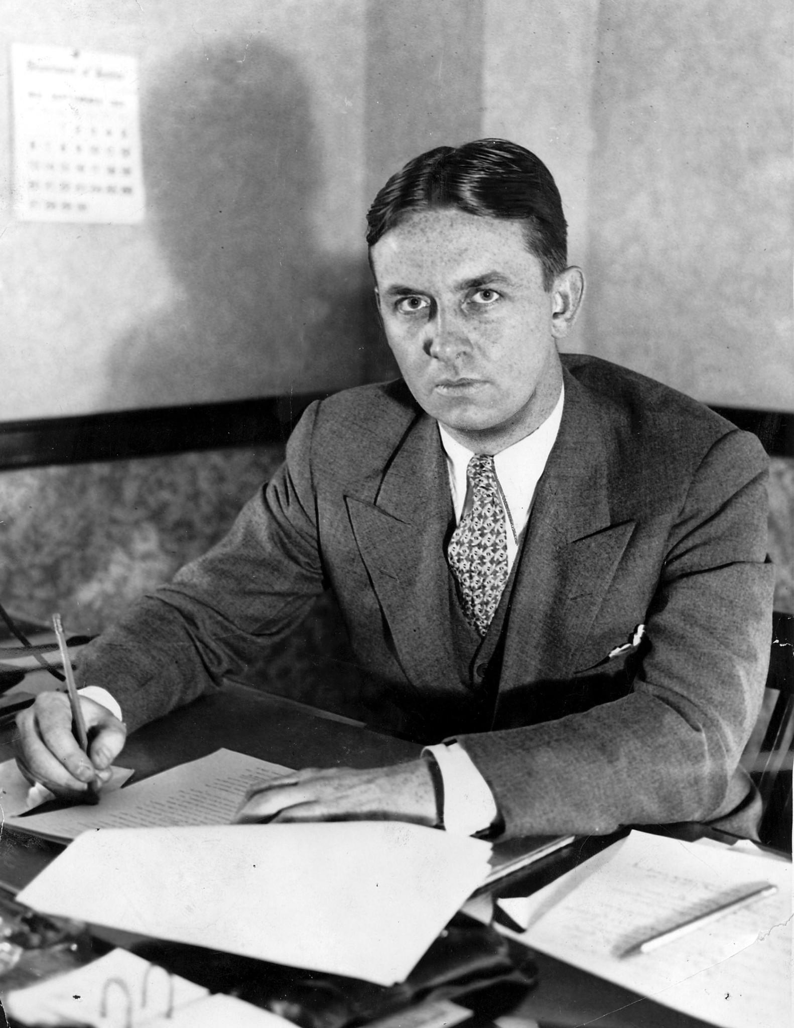Eliot Ness (Tribune file)